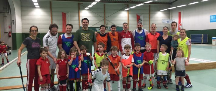 Eltern-Kind- Hockey-Turnier