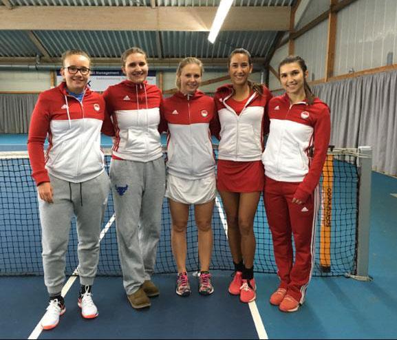 1. Tennis-Damen starten mit Erfolg in die Wintersaison