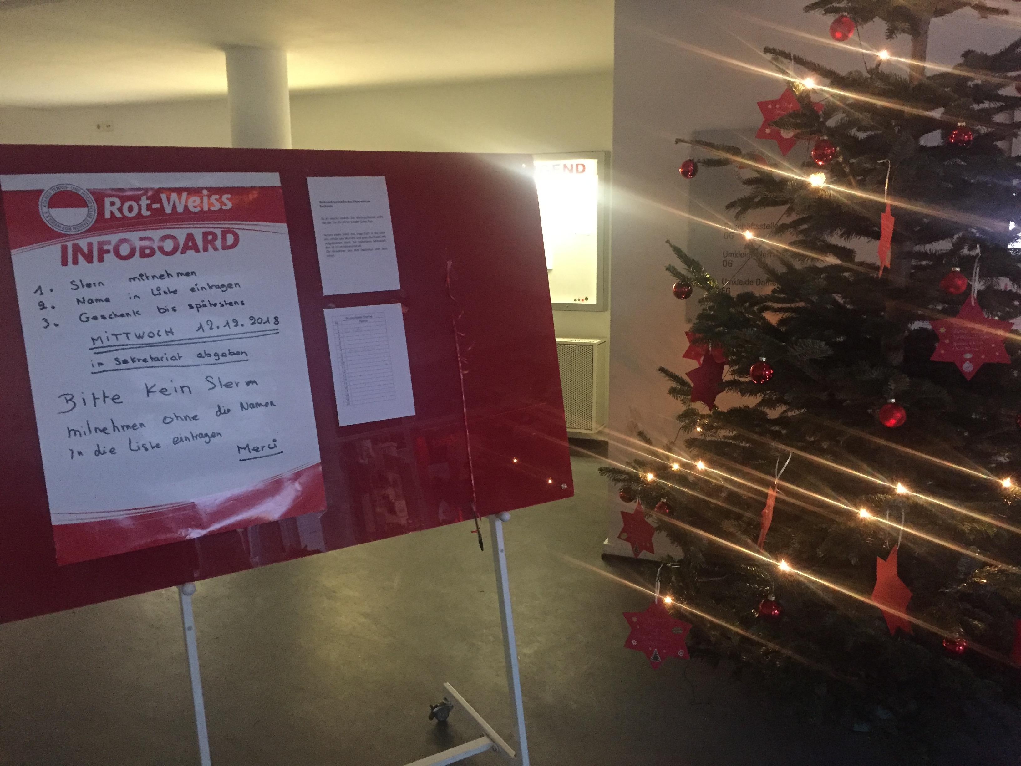 Vor Weihnachtswünsche.Weihnachtswünsche Des Altenzentrum Deckstein Kölner Thc Stadion