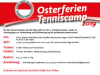 Osterferien Tennis Camp