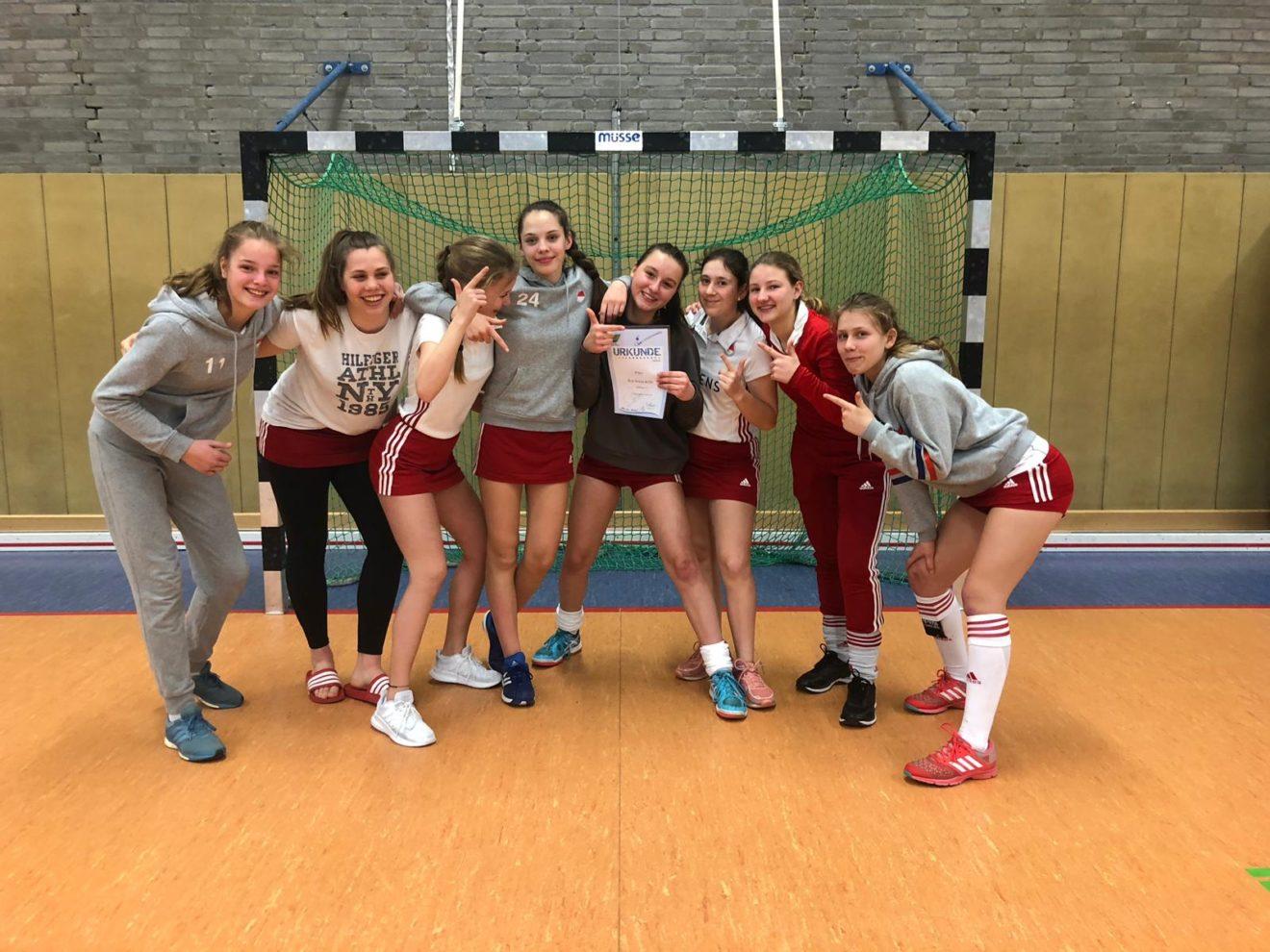 Mädchen A2-Oberliga-Vizemeister