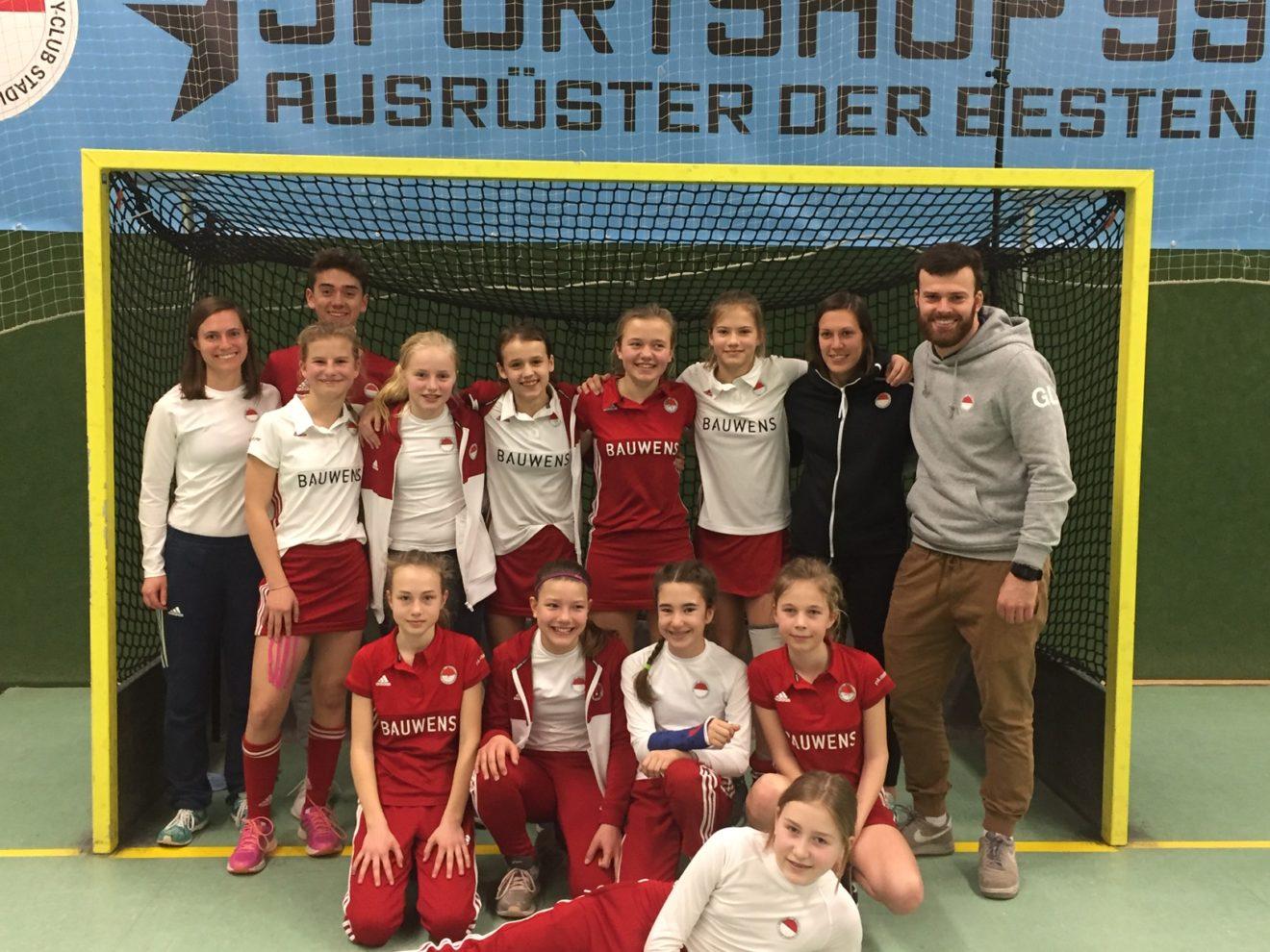Mädchen B - 3. Platz bei der Westdeutschen Endrunde