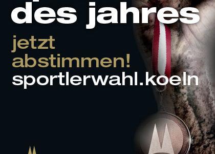 Gesucht wird: Person des Kölner Sports 2018 und Kölns NachwuchssportlerIn 2018