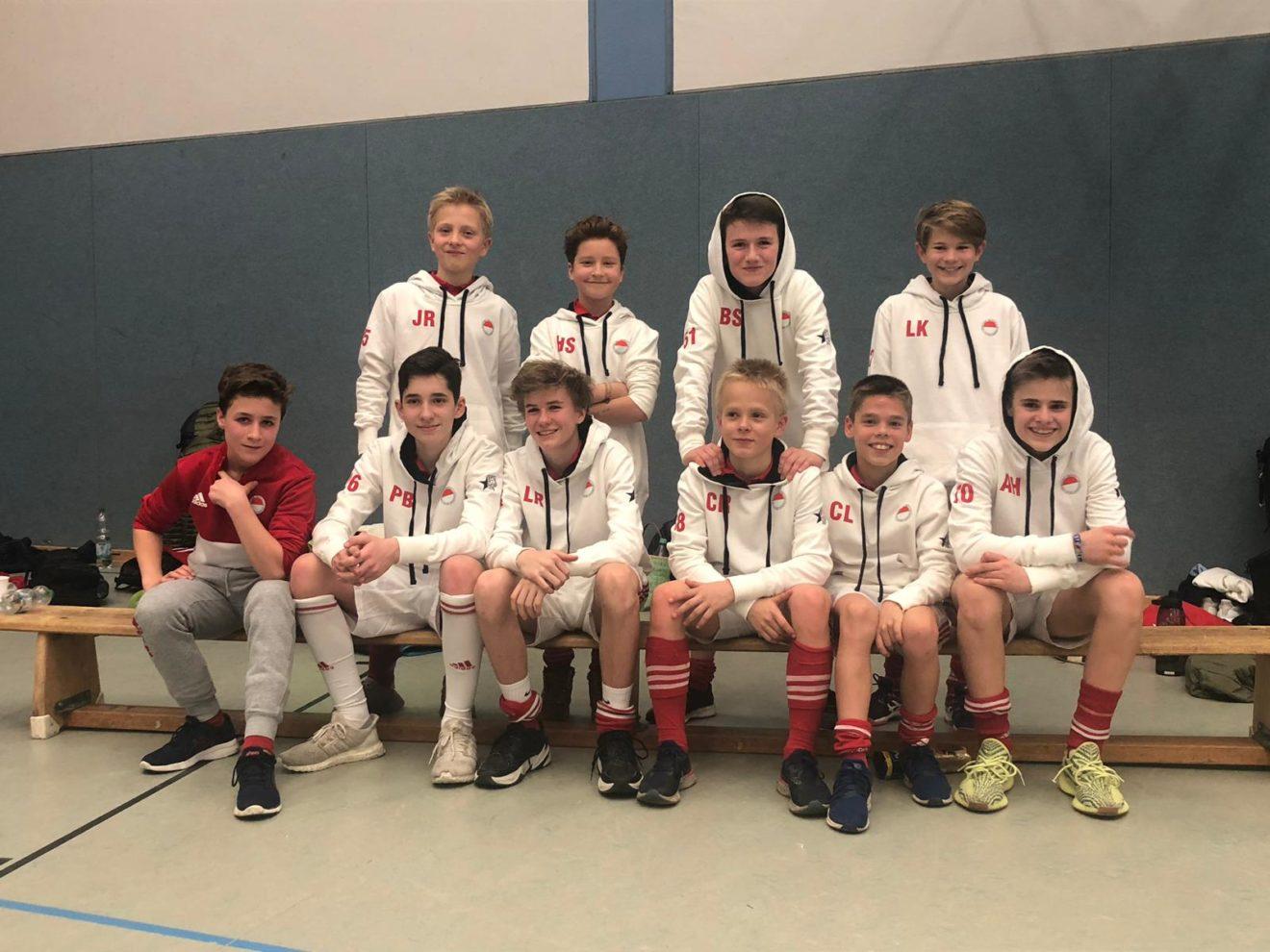 Dritter Platz für die B2 in der Oberliga-Endrunde