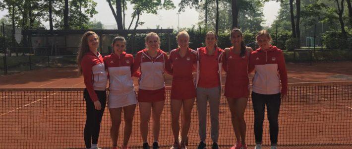 1. Tennisdamen mit erstem Sieg in der Oberliga