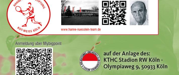 Hanne Nüsslein Cup powered by medassure: DTB Jugend Turnier wieder über Pfingsten auf unserer Anlage