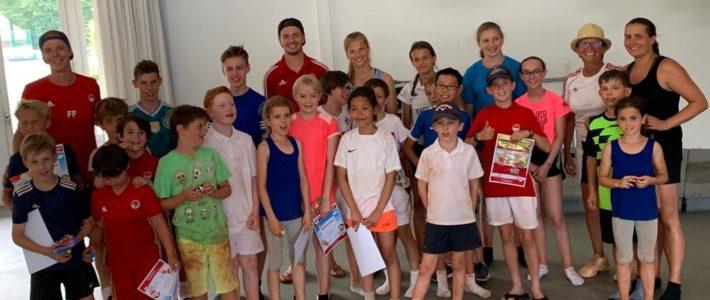 Tenniscamp in der 2. Ferienwoche ein voller Erfolg