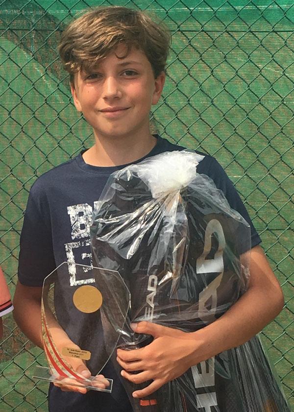 Bob Open 2019 - Turniersieger Viktor Krischek