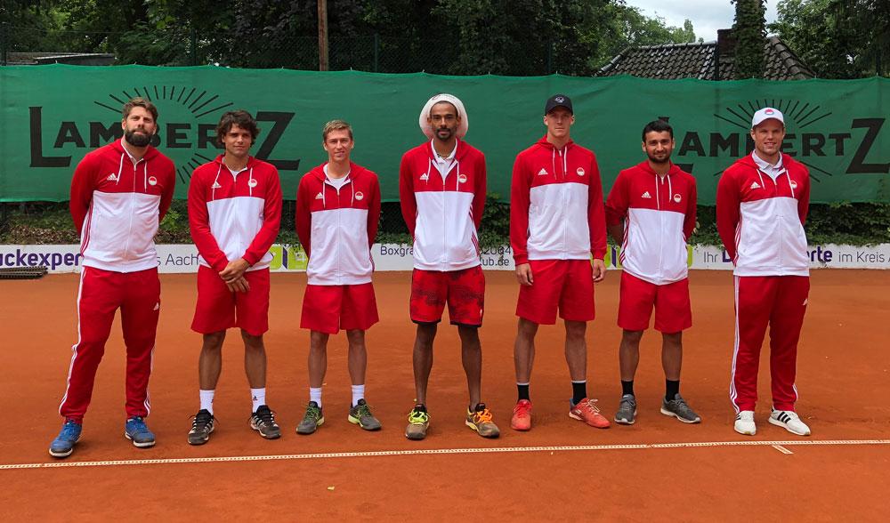 Knappe Niederlage beim Favoriten: Tennis Bundesligateam unterliegt in Aachen