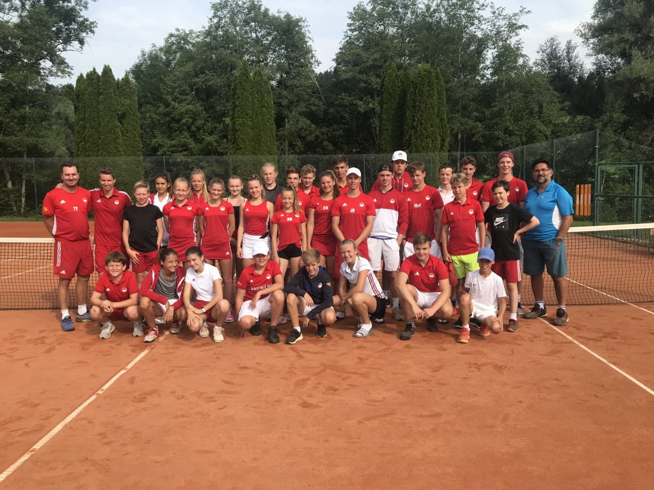 Friends of Tennis Jugendcamp 2019 im Allgäu