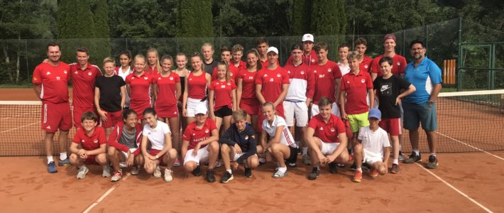 Friends of Tennis Jugendcamp 2019 im Allgäu