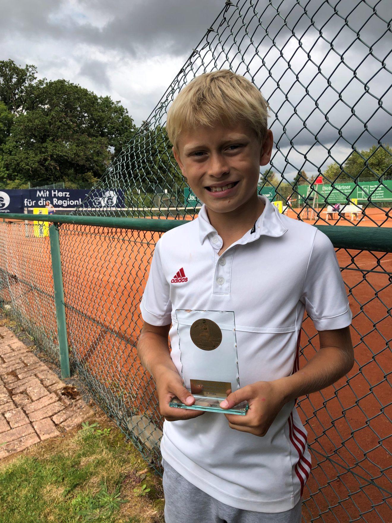 Kjell Benninger mit gutem 3. Platz