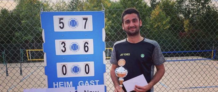 Hazem Naw gewinnt sein fünftes Turnier hintereinander