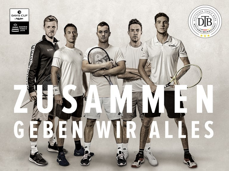 Rot-Weiss goes Davis Cup
