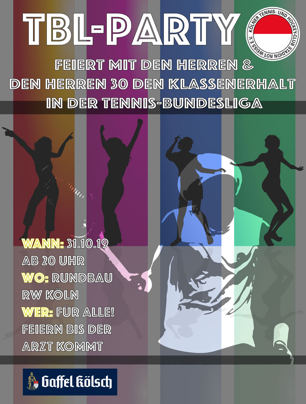 Reminder - Partytime am 31.10. - TBL Paqrty