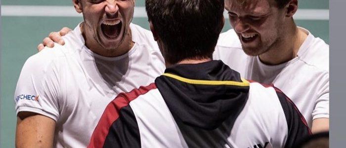Kramies im Davis Cup erfolgreich