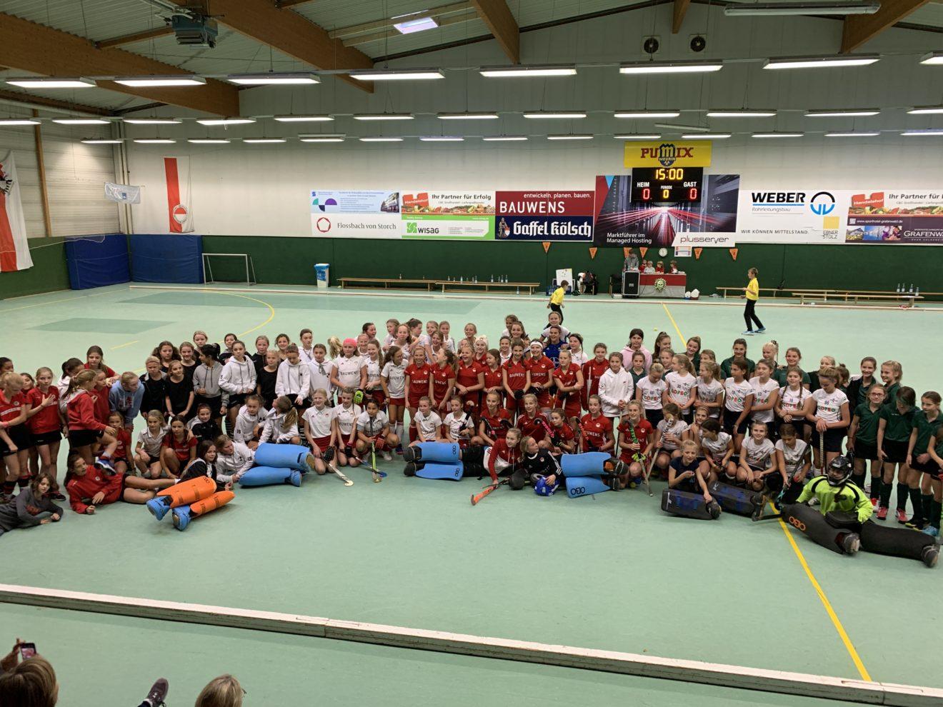 H3 Cup der B-Mädchen im Rot-Weiss