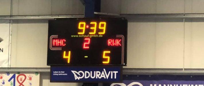 RWK Herren nach Sieg in Mannheim beim Final4