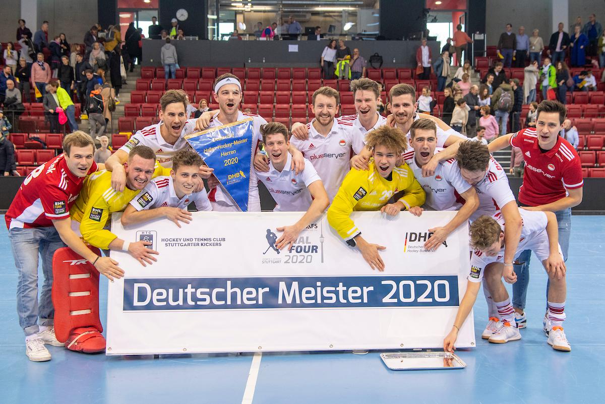 1974-2020 Die Hockeyherren werden zum 11. Mal in der Vereinsgeschichte deutscher Hallenhockeymeister