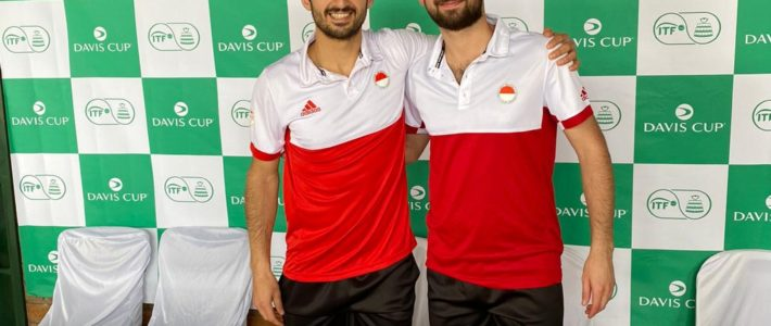 Rot-Weiss goes Davis Cup!