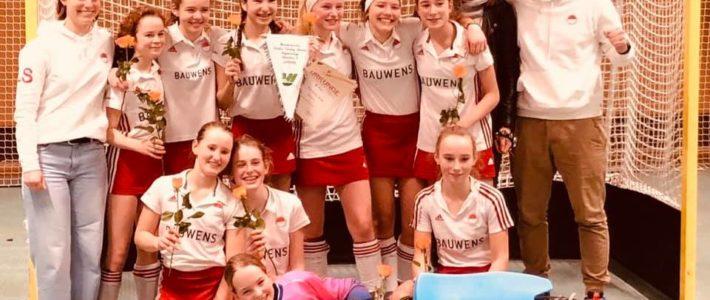Revanche: B1 Mädels gewinnen Westdeutsche Meisterschaft!