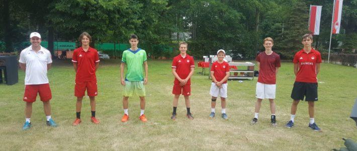 1. Junioren eröffnen Medenspielsaison 2020