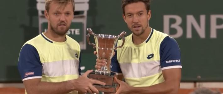 Andy Mies und Kevin Krawietz schreiben Tennisgeschichte!