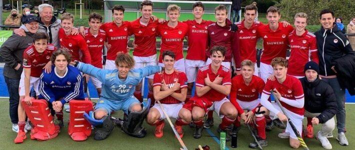 Knaben A und männliche Jugend A sichern sich den Westdeutschen Meistertitel!!