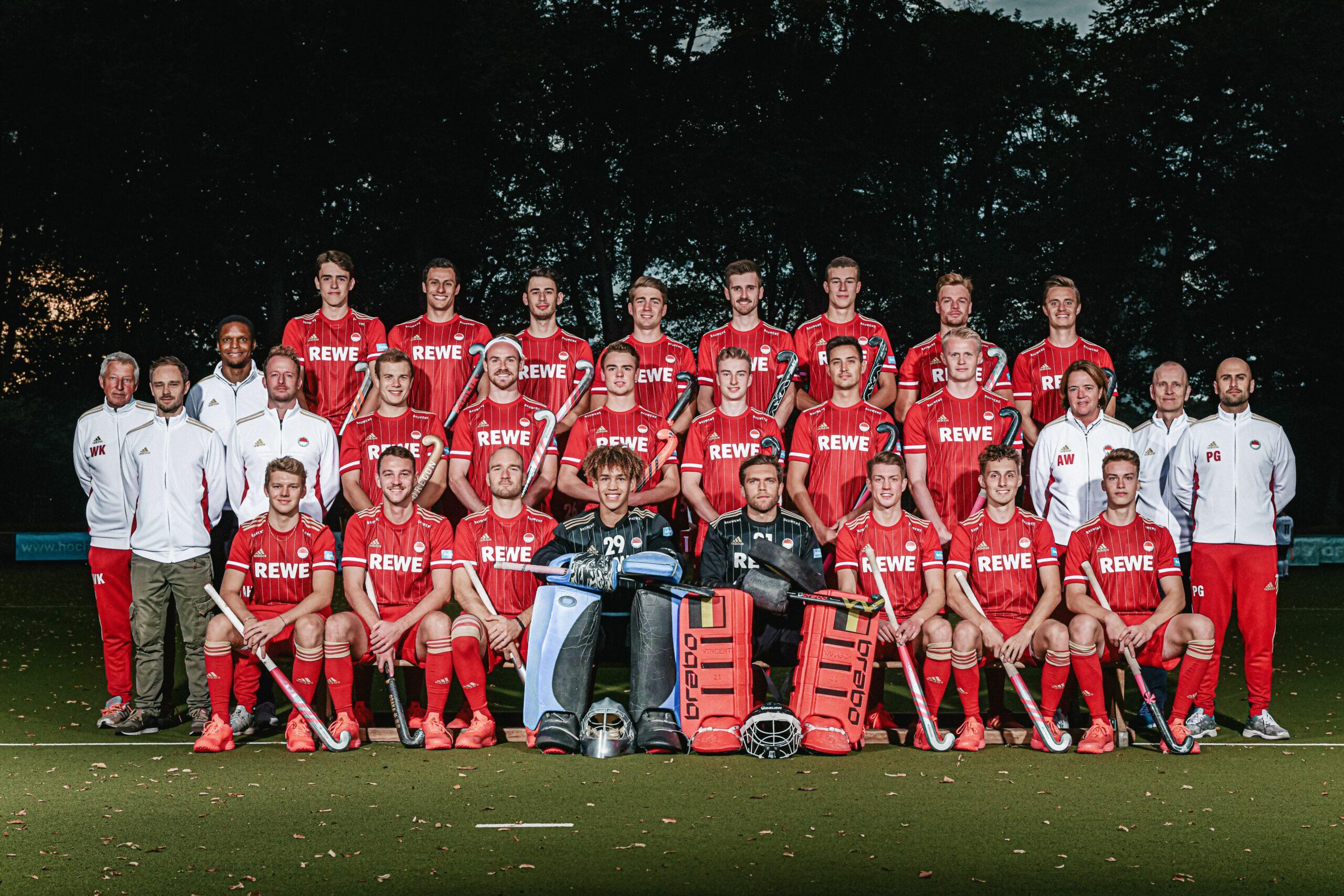 HTHC-Herren und Rot-Weiss Köln trennen sich remis