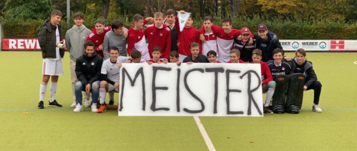 Männliche Jugend von Rot Weiss in überragender Form