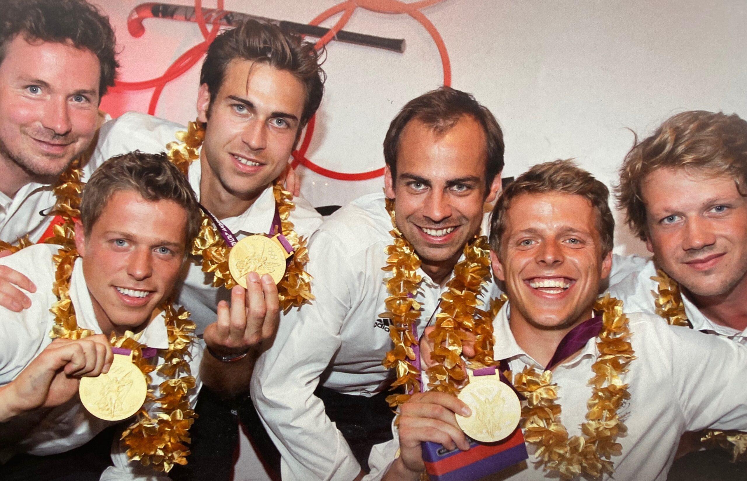 2012 Sechs Rot-Weiss Herren gewinnen bei den Olympischen Spielen in London Gold