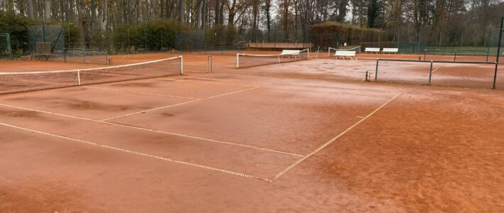 Tennisplätze bleiben bis auf Weiteres gesperrt