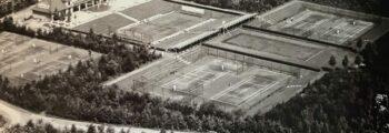 1925 Fusion mit dem Kölner Tennisclub Stadion Grün-Weiß in Müngersdorf zum Kölner Tennis-und Hockeyclub Stadion Rot-Weiss