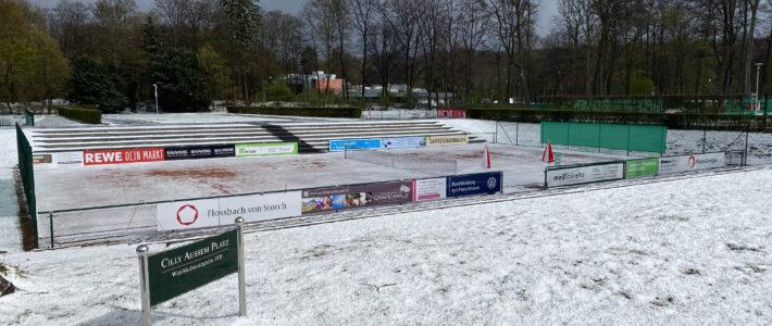 Alle Tennisplätze bleiben bis auf Weiteres gesperrt
