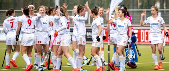Damen-Hockeybundesliga: Rot-Weiss Köln – UHC Hamburg am Sonntag um 13 Uhr