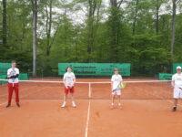 Matchtraining für die Tennisjugend
