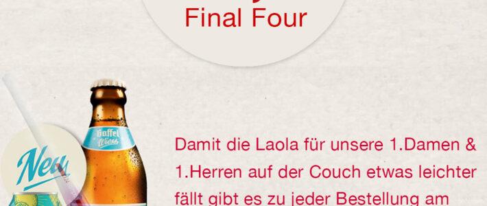 Final Four Aktion von der Rot-Weiss Gastronomie Vaca Roja