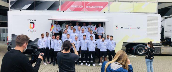 Einkleidung des Team Deutschland