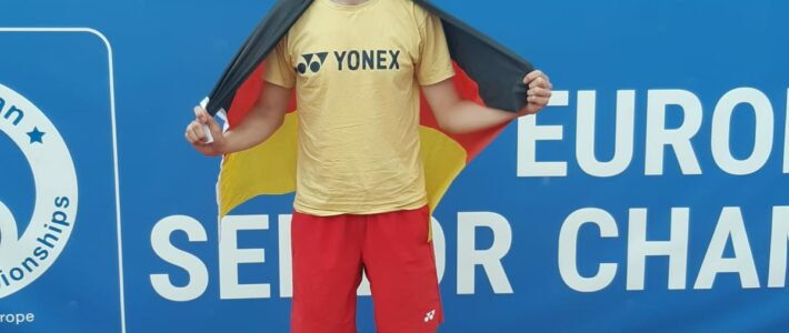 Unser Herren 30-Tennisspieler Sascha Möller wird Vize-Europameister in seiner Altersklasse