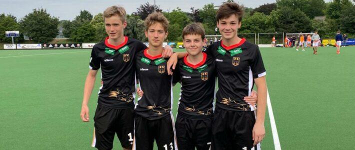 Vier mal Rot Weiss Köln für die Deutsche U16!