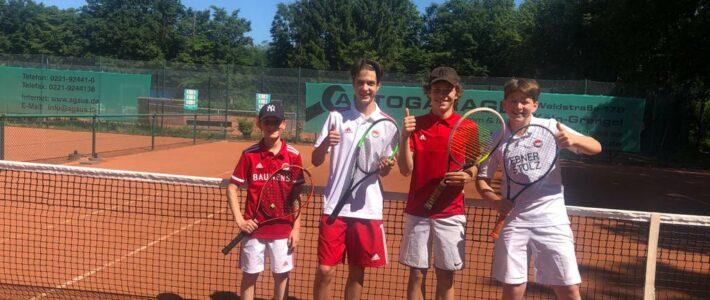 Tennis-Jugendmannschaften erfolgreich in die Saison gestartet
