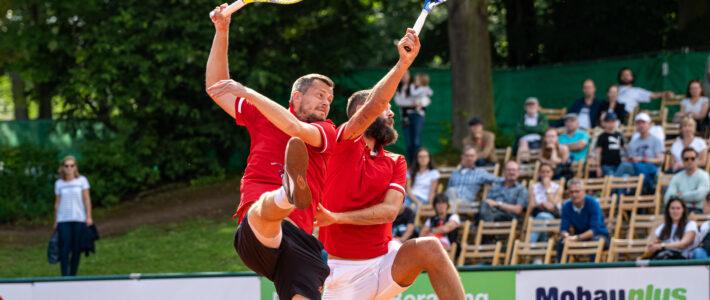 1. Tennisherren verlieren 1:5 gegen Mannheim