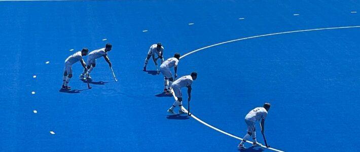 Hockeyherren spielen sich ins Halbfinale der olympischen Spiele!!