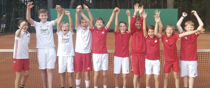 Die Mixed U12 Mannschaft ist Bezirksmeister