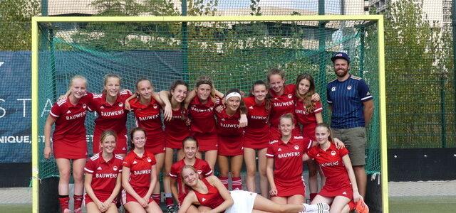 Weibliche U14 qualifiziert sich für die westdeutsche Meisterschaft