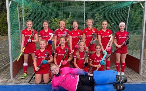 Weibliche U14: Penalty-Siege führen zu Platz 3