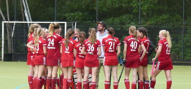 Weibliche U14 spielt am Wochenende Achtelfinale der Deutschen Meisterschaft